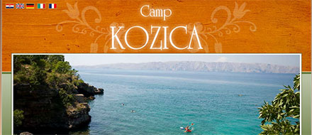 Visit the website of Camp Kozica